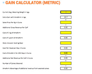 gain-calculator-metric