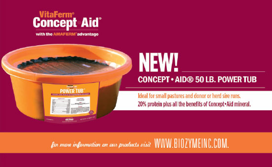 Product Focus: IGR Minerals and New Concept•Aid® Power Tub
