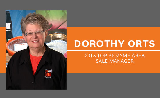 Dorothy Orts :: 2015 Top Biozyme Area Sales Manager