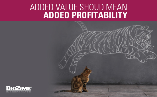 Added Value Should Mean Added Profitablity