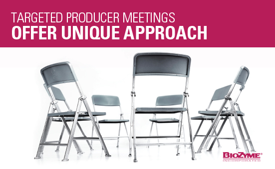 Targeted Producer Meetings Offer Unique Approach