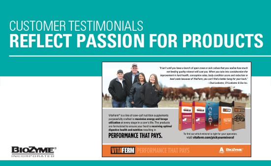 Customer Testimonials Reflect Passion for Products