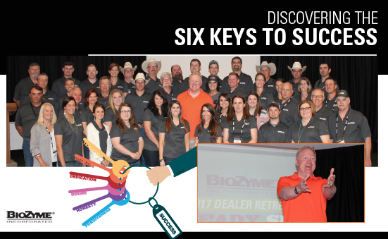 Discovering the Six Keys to Success