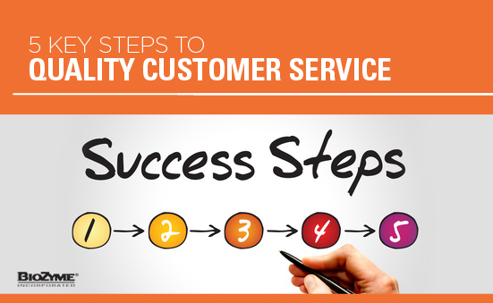 5 Key Steps To Quality Customer Service