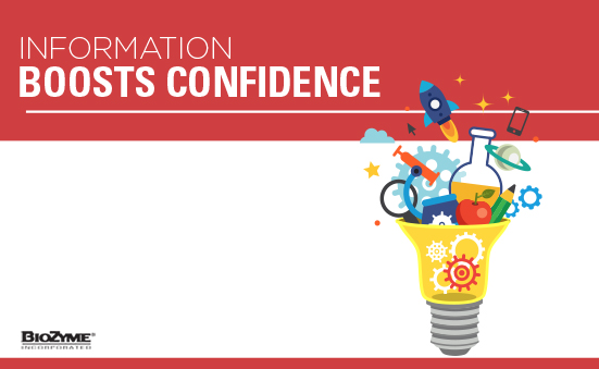 Information Boosts Confidence