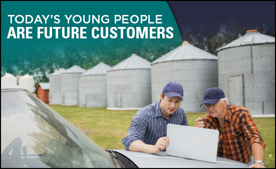 Today's Young People are Future Customers