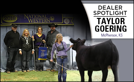 Dealer Spotlight: Taylor Goering