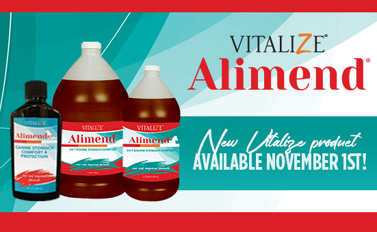New Vitalize Product Available November 1