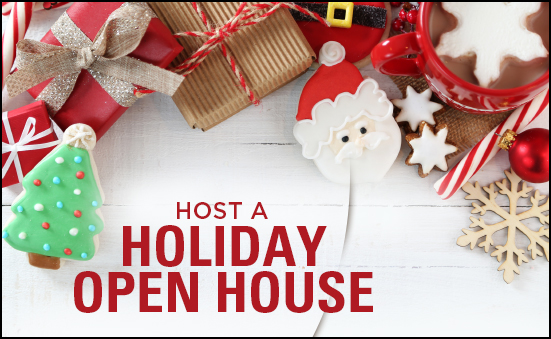Host a Holiday Open House