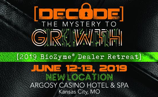 2019 BioZyme Dealer Retreat Location Announcement