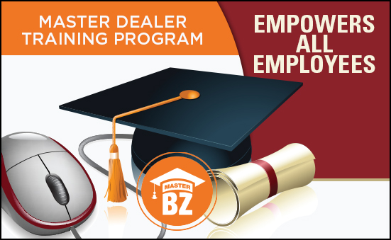 Master Dealer Training Program Empowers all Employees