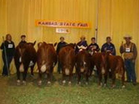 Dr. Dan Moser, Moser Family Herefords | Kansas