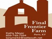Final Frontier Farm |Kentucky