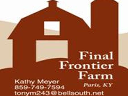Final Frontier Farm |Kentucky