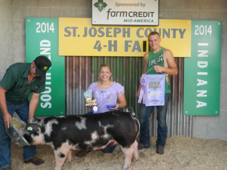 Hall County Fair Champ