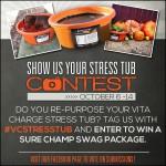 Vita Charge Stress Tub Contest