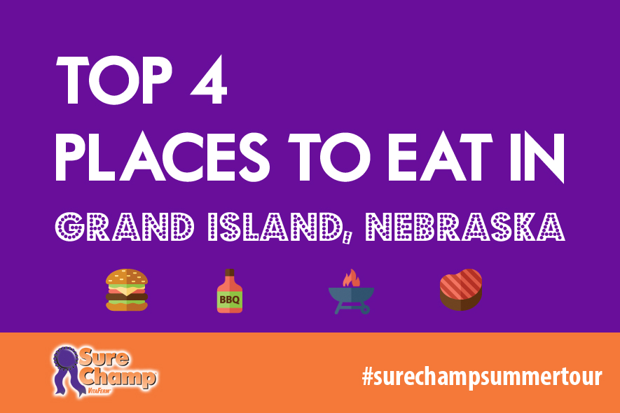 Top 4 Places to Eat in Grand Island