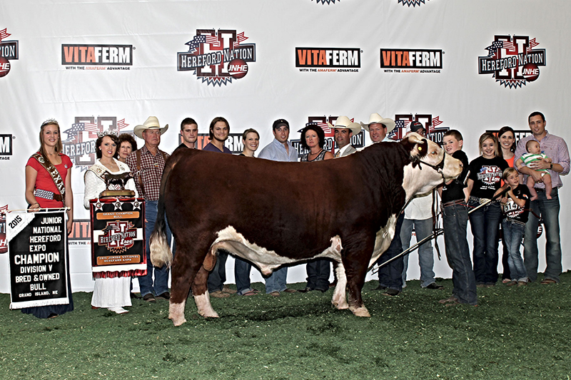 _JNHE 2015-Grand Bred and Owned Bull Bryden Barber TX