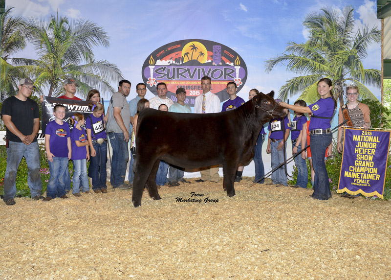 Whitney Walker Grand Champion MaineTainer