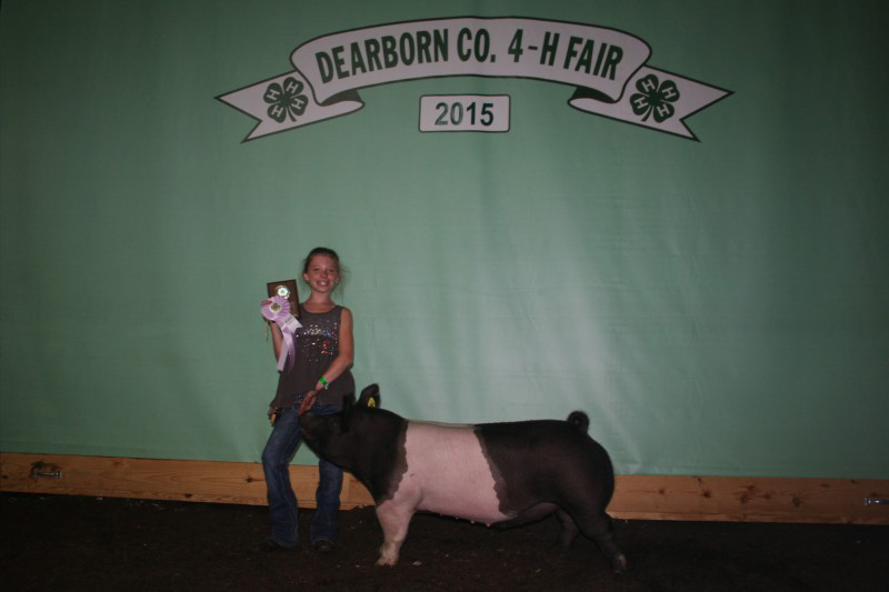 Izabella Bear-Reseve Division Lightweight-Deaborn County Fair
