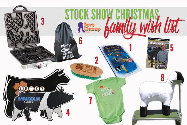 Christmas Wish List Ideas.2015 Stock Show Christmas Wish List Sure Champ