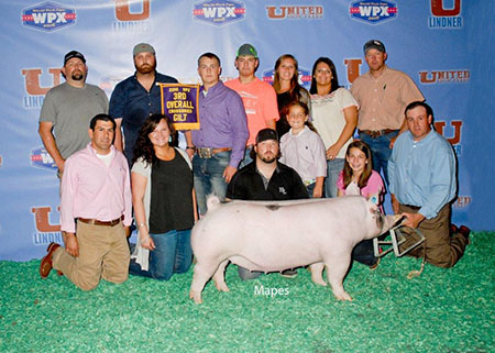 Wolf_Family_3rd Overall Cross Gilt WPX Jr Show 16