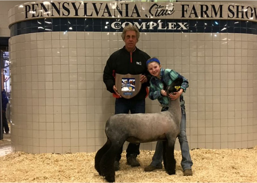 18 PA State Farm Show, Grand Champion Lightweight, Shown by Ava Kitner Champ