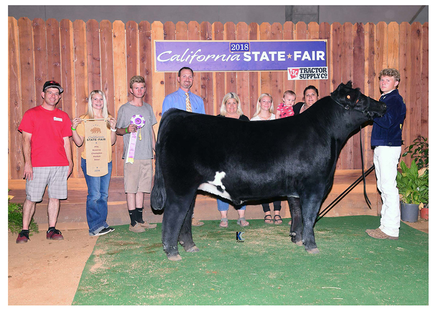 2018-CALIF-STATE-FAIR_RESERVE-FFA-MARKET-STEER Champ