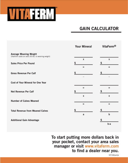 Gain Calculator