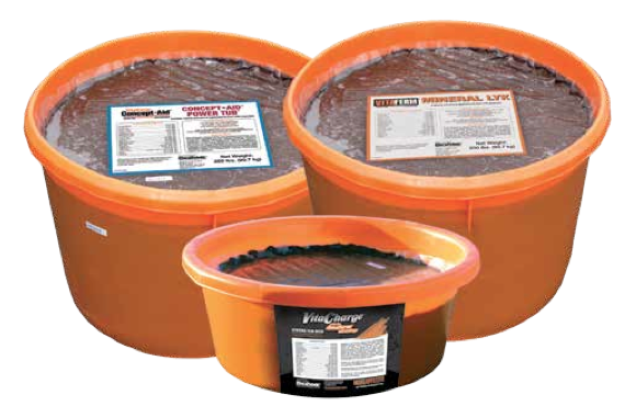 Cooked Molasses Tubs