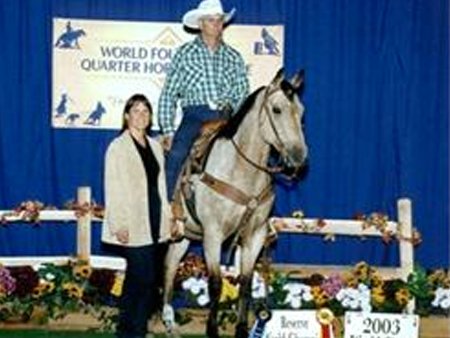 Mike Kavanagh, Kavanagh Quarter & Paint Horses | Missouri