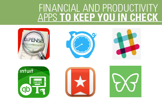 Financial and Productivity Apps to Keep You in Check