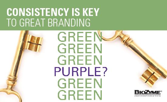 Consistency is Key to Great Branding