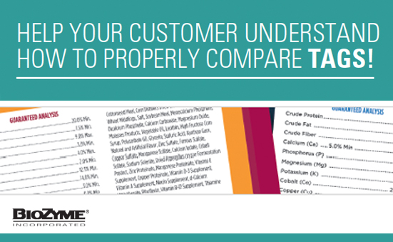Help Your Customers Understand How to Properly Compare Tags