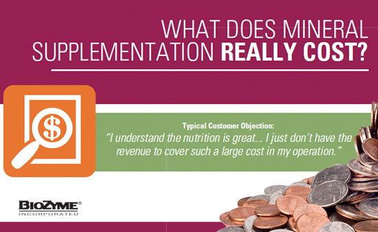 What Does Mineral Supplementation Really Cost?