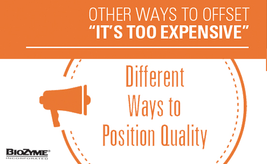 "Other Ways to Offset ""It's Too Expensive"""