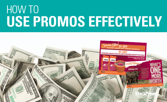 How to Use Promos Effectively