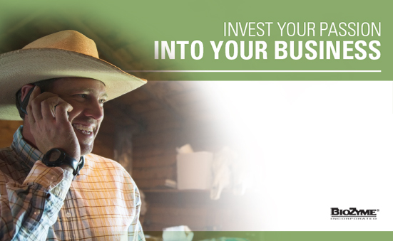 Invest Your Passion Into Your Business