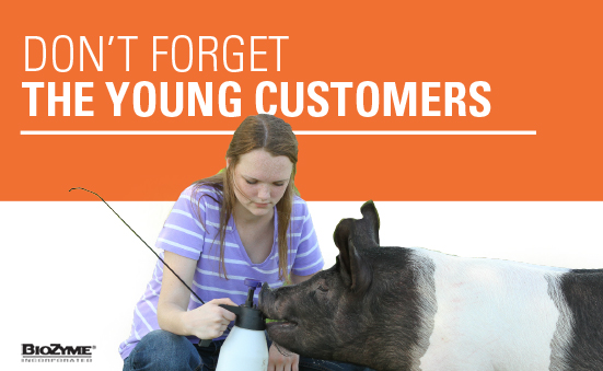 Don't Forget the Young Customers