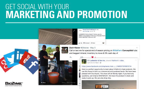 Get Social with Marketing and Promotion