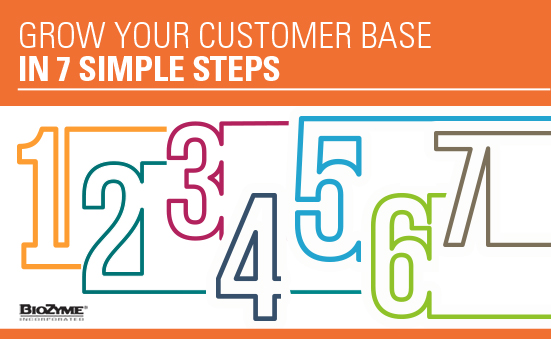Grow Your Customer Base in 7 Simple Steps