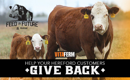 Help Your Hereford Customers Give Back