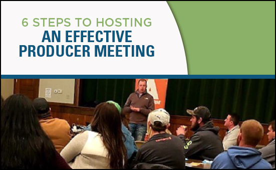 6 Steps to Hosting an Effective Producer Meeting