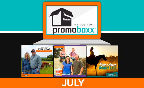 July PromoBoxx Campaigns