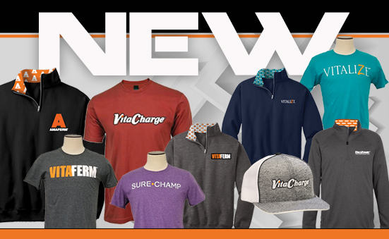 New Apparel Now Available!