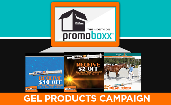 Our Gel Products Campaign is Now Available on PromoBoxx!