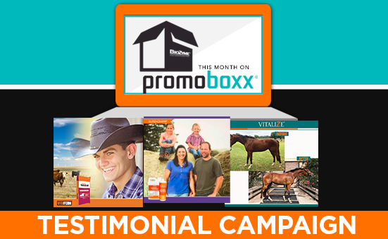 Our Testimonial Campaign is Now Available on PromoBoxx!