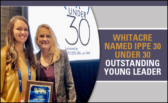 Lynsey Whitacre Named IPPE 30 Under 30 Outstanding Young Leader