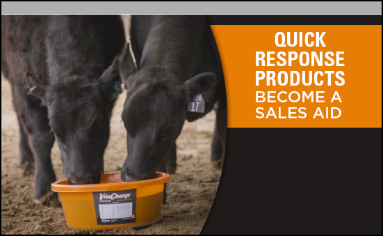 Quick Response Products Become A Sales Aid