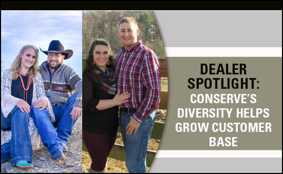 Dealer Spotlight: Conserve's Diversity Helps Grow Customer Base
